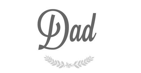 Some people don't believe in heroes, but they haven't meet my dad !