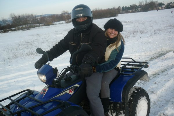 week end delire sur le quad