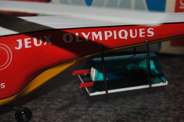 HELICOPTERE JOUSTRA - JEUX OLYMPIQUES DE GRENOBLE