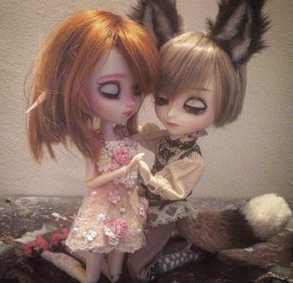 Cherry et Lucas