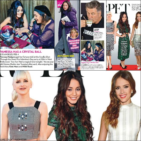 Scans de Nessa pour OK! Magazine du 24 Fév.