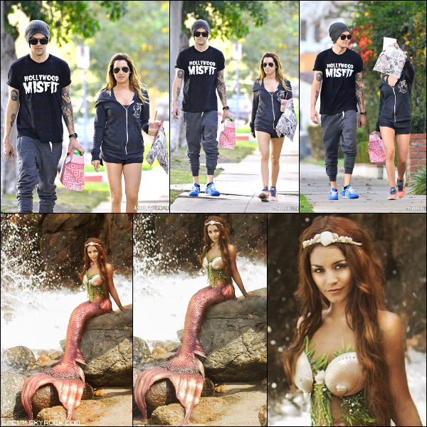 Résumé Photos du couple Chrisley le 17 Fév dans Toluca Lake. Photo Shoot de Nessa de 2013 pour Project Mermaid toruné à Malibu.