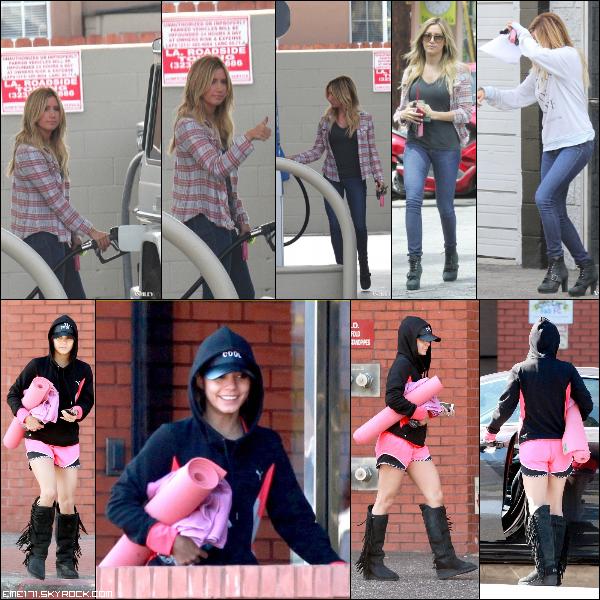 Résumé Photos d'Ash le 4 Avril et Nessa le 5 Avril dans Studio City.