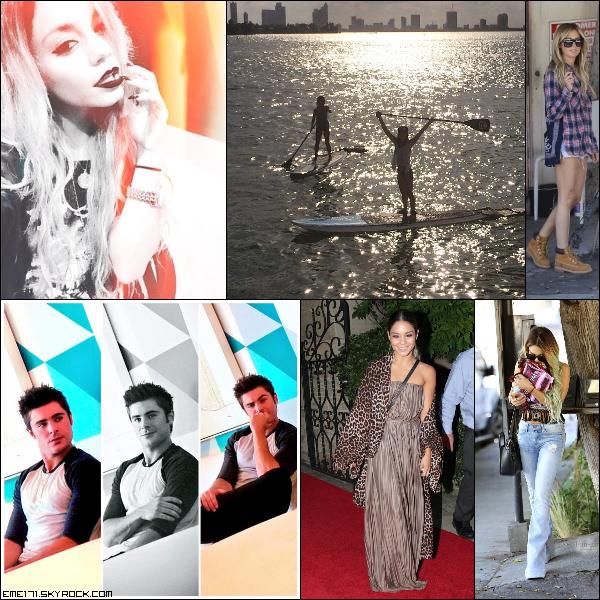 Photo Instagram de Nessa, Kim et Zac. Résumé Photos de Nessa le 29 et d'Ash et Nessa le 30 Mai.