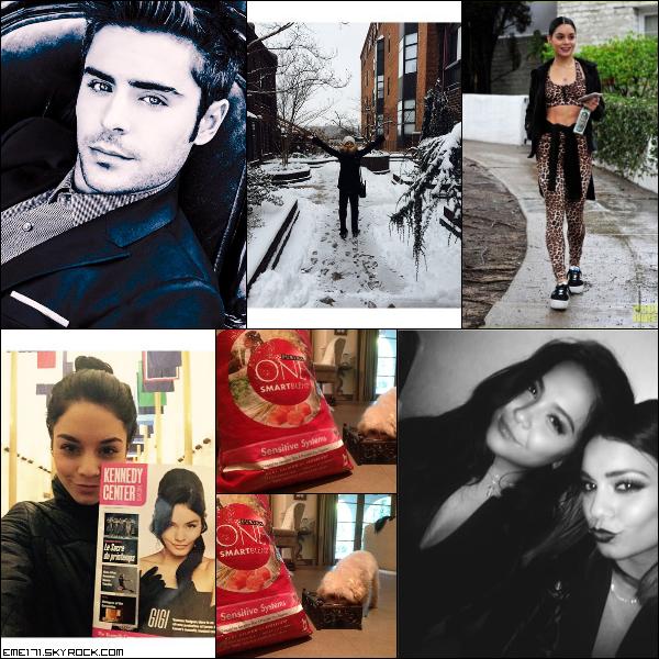 Twitpic de Zac. Photo Instagram de Nessa. Résumé Photo de Nessa le 5 Janvier à Washington. Twipics de Nessa et Ash. Photo Perso de Nessa et Stella à NYC.