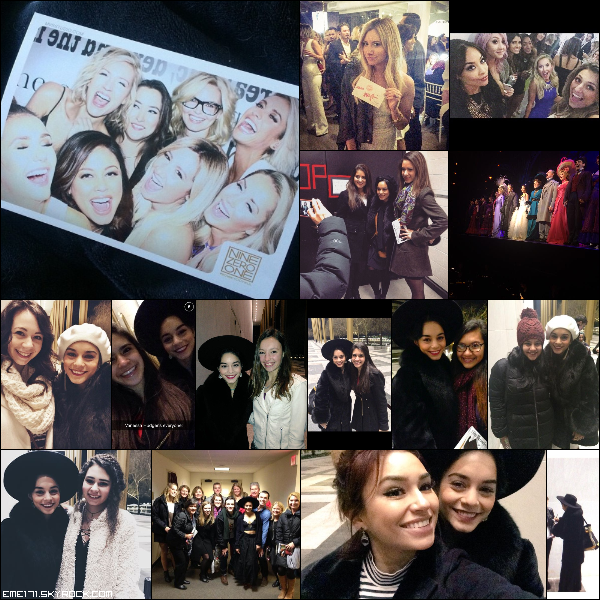 3 Photos Persos d'Ash avec les filles lors du Launch Party du salon Nine Zero One. 4 Photos Fans de Nessa à la fin des 2 représentations de Gigi le 16 et 17 Janvier à Washington. Photos Fans de Nessa le 18 Janvier à Washington.