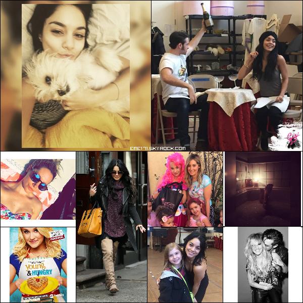 Photo FB et Perso de Nessa. 2 Photos Instagram d'Ash. Résumé Photo de Nessa le 10 Mars à NYC. Photo Perso d'Ash avec Mikayla. Photo Fan de Nessa. Photo Instagram d'Ash et Nessa.