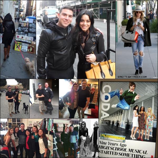 Photo Fan de Nessa le 11 Mars dans NYC avec Darla et une autre toute seule. Résumé Photo d'Ash le 12 Mars. 5 Photos Fans de Zac le 11 Mars. Photo Instagram et Twitpic d'Ash.