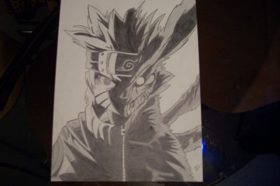 Mi naruto mi kyubi mes dessins sonofsnake - Naruto kyubi dessin ...
