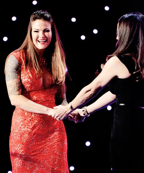 Trish Et Lita Hall Of Fame 2014