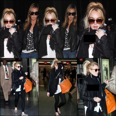 06 Avril 2011 : Ce matin, Lindsay fatiguer est arriver à l'aéroport LAX de Los Angeles. Ton avis?