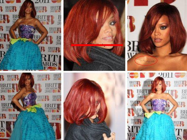 Rihanna: 2011 BRIT Awards