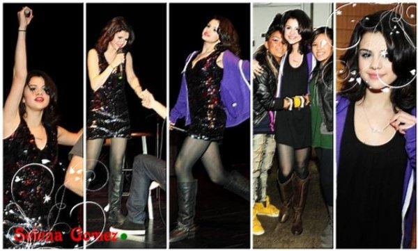 08 Février : Selena à San Antonio Rodeo Show !