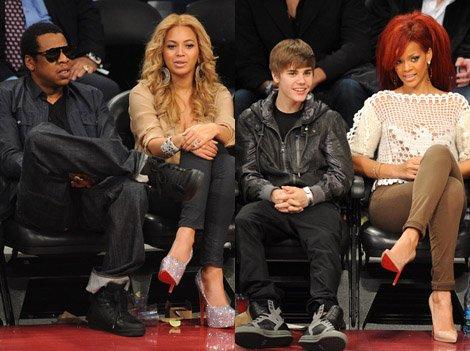 au Staples Center de Los Angeles, se déroulait la session 2011 du célèbre All-Star Game, à laquelle de nombreux people amateurs de basket ont assisté....
