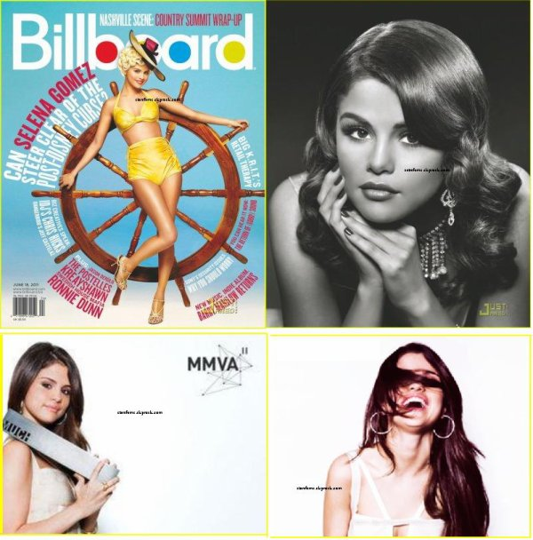Billboard Magazine +Photoshoot Much Music Video Awards .