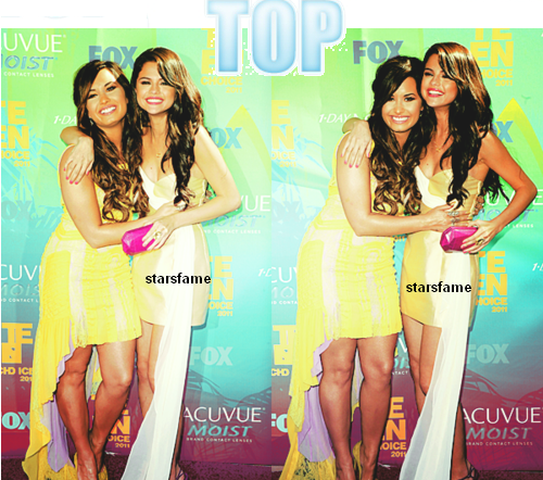 les stars etaient TEEN CHOICE AWARDS 2011 .