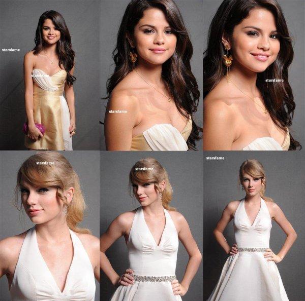 selly et taylor et demi dans les loges des Teen Choice Awards .