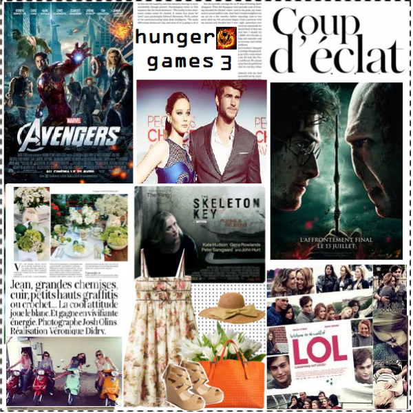 qui choisir entre : hunger games, harry potter 7 ,lol usa, avengers, sprean brikers ... ?!