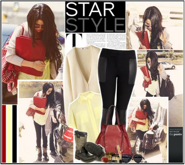 Selena Gomez à l'aéroport LAX le  17 JUIN TOP ou FLOP ?!