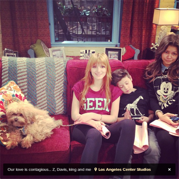 2 nouvelles photos de l'instagram de Bella.
