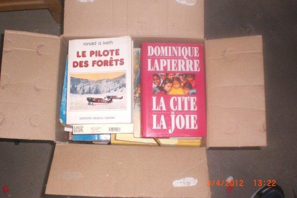 caisse de livre melange les deux caisse 20¤