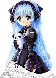 Manga girls gothique