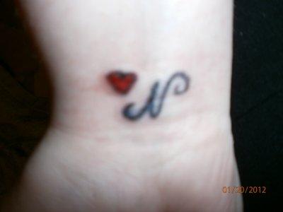 Mon tatoo vien d etre finir !!!