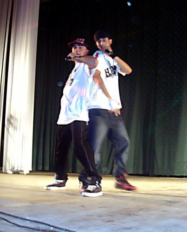 MC Kamel & Haroun FreeMan  prise du Concert du 21 Mai 2011