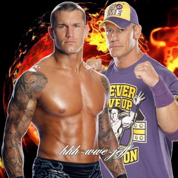 °Duel  Randy Orton V.S John Cena  Article N°2