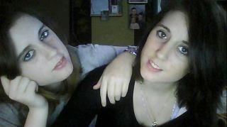 moi et ma soeur jumelle kelly