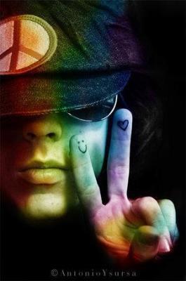 Peace and love  !! =DDDDDD