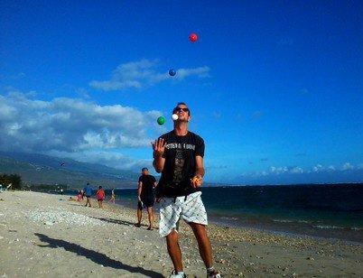5 balles à la Saline ( Réunion )