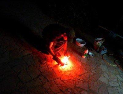 Préparation balles enflammées