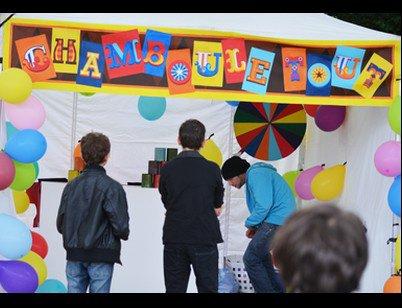 Animation chamboule tout au Fêtes de la Tour Blanche 2015 Issoudun
