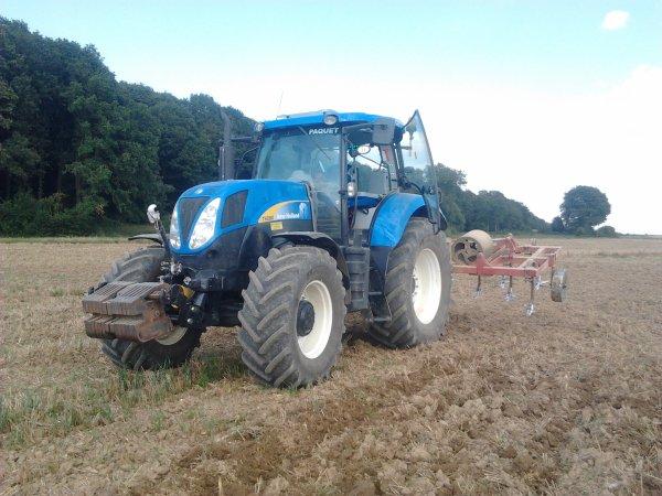 dechaumage 2012 tout seul en new holland t6080 ;)