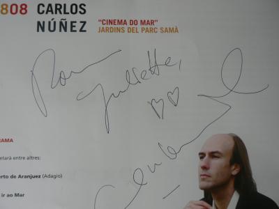 Carlos Nuñez en concert à Cambrils (Espagne) - 18 août 2007