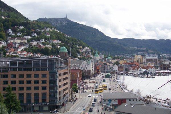 Premiers jours à Bergen
