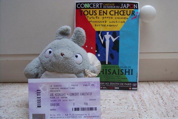 Concert de Joe Hisaishi - Zénith de Paris, 23 juin 2011