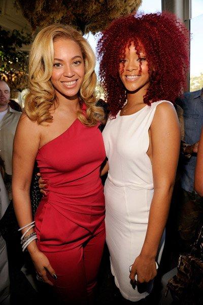 Beyonce et Rihanna <3