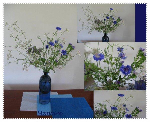Pour vous souhaiter un excellent week-end, un bouquet champêtre....