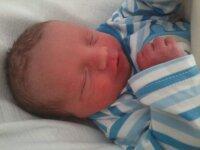 mon fils loucas,nee le 24 juillet 2013