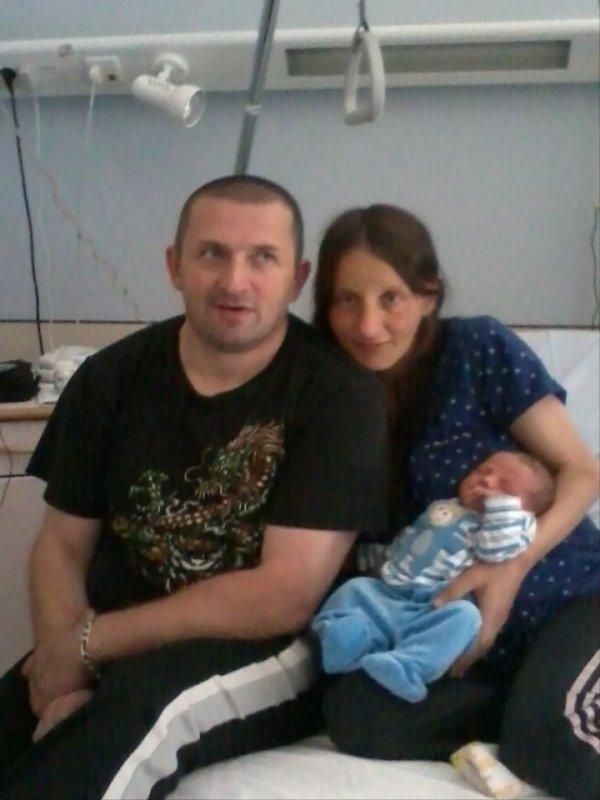 mon petit coeur olivier et moi, avec notre fils loucas