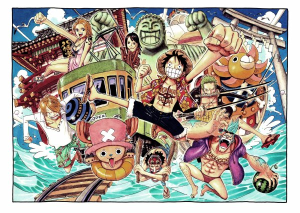 Manga : One Piece.
