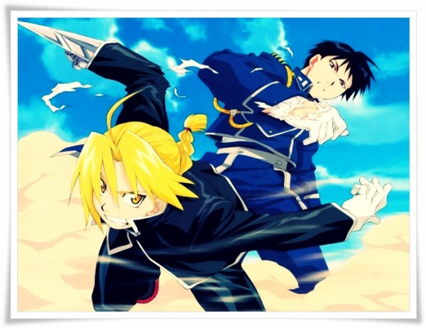 Manga : Full Metal Alchemist. Ou de son vrai nom en Japonais : Hagane no Renkinjutsushi.