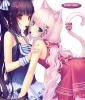J'ai cragué sur c'est deux filles (Pers.Sayori neko Vanilla et Chocola.) Elle sont kawaii !