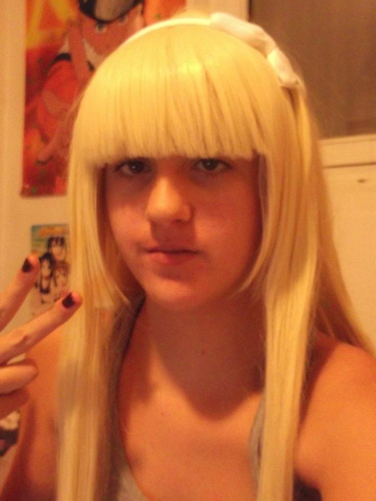 Wig modifié-Cosplay Mavis de Fairy Tail ou un autre cosplay proposer moi.