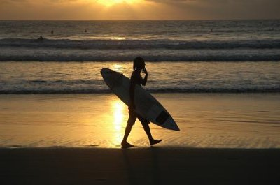 all i do is surf !