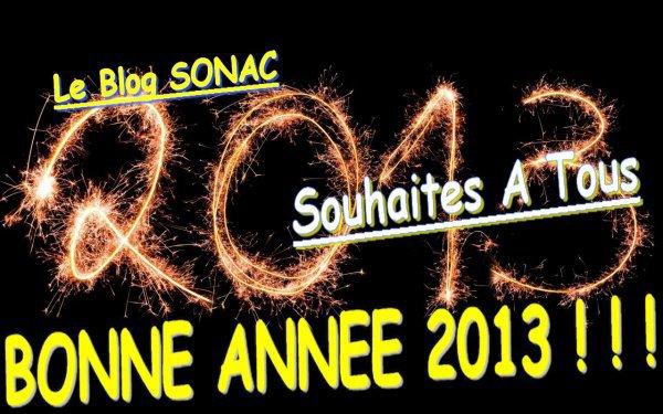 BONNE ANNEES 2013