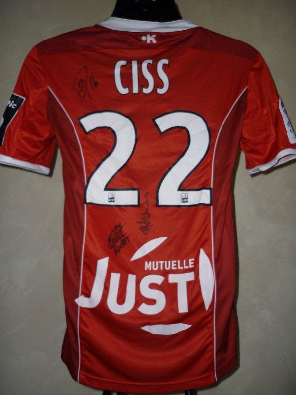 Saison 2016-2017 porté par Saliou CISS