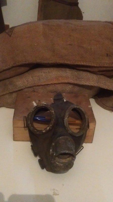 masque a gaz allemand de fouille